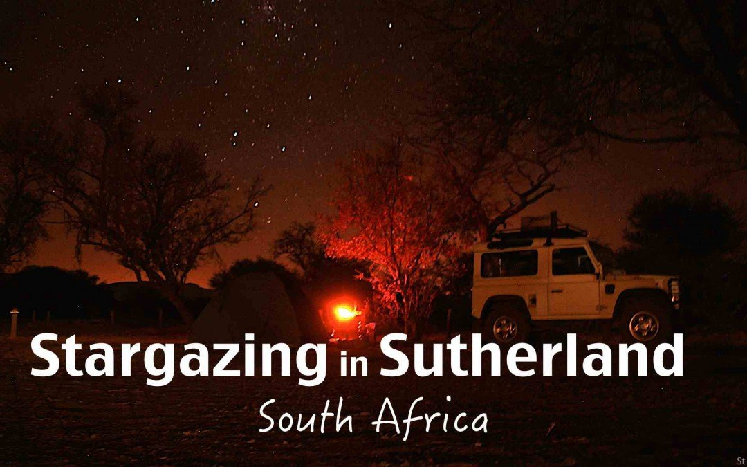 Stargazing in Sutherland South Africa