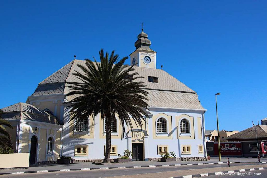 German architecture in Swakopmund Namibia