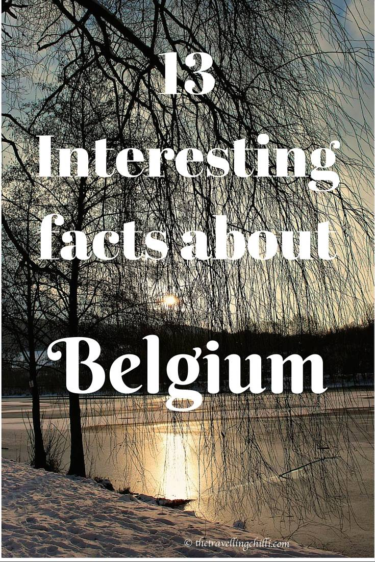 13 interesting facts Belgium