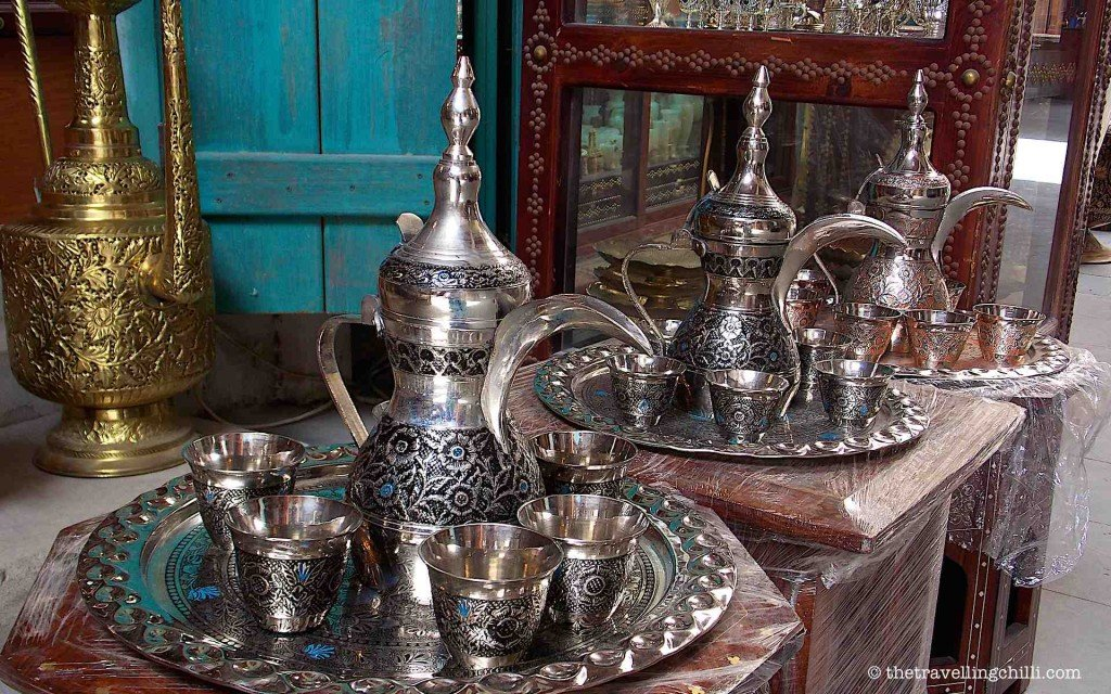 arabic coffee pot qatar doha