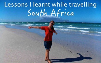Lessons I learnt while travelling South Africa