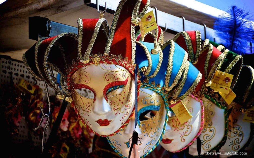 venice italy venetian masks