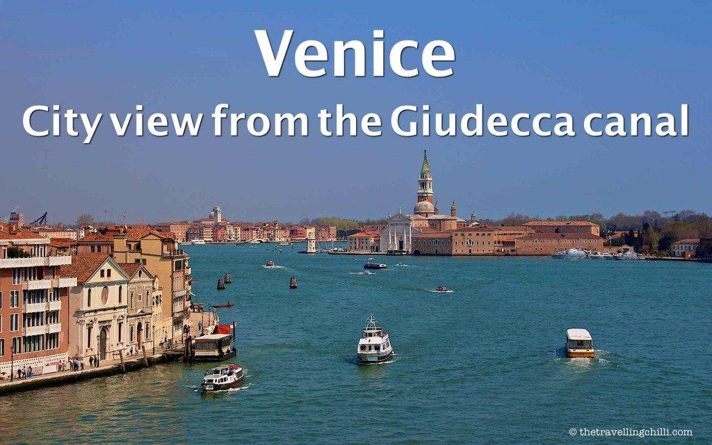 Giudecca Canal Venice Italy
