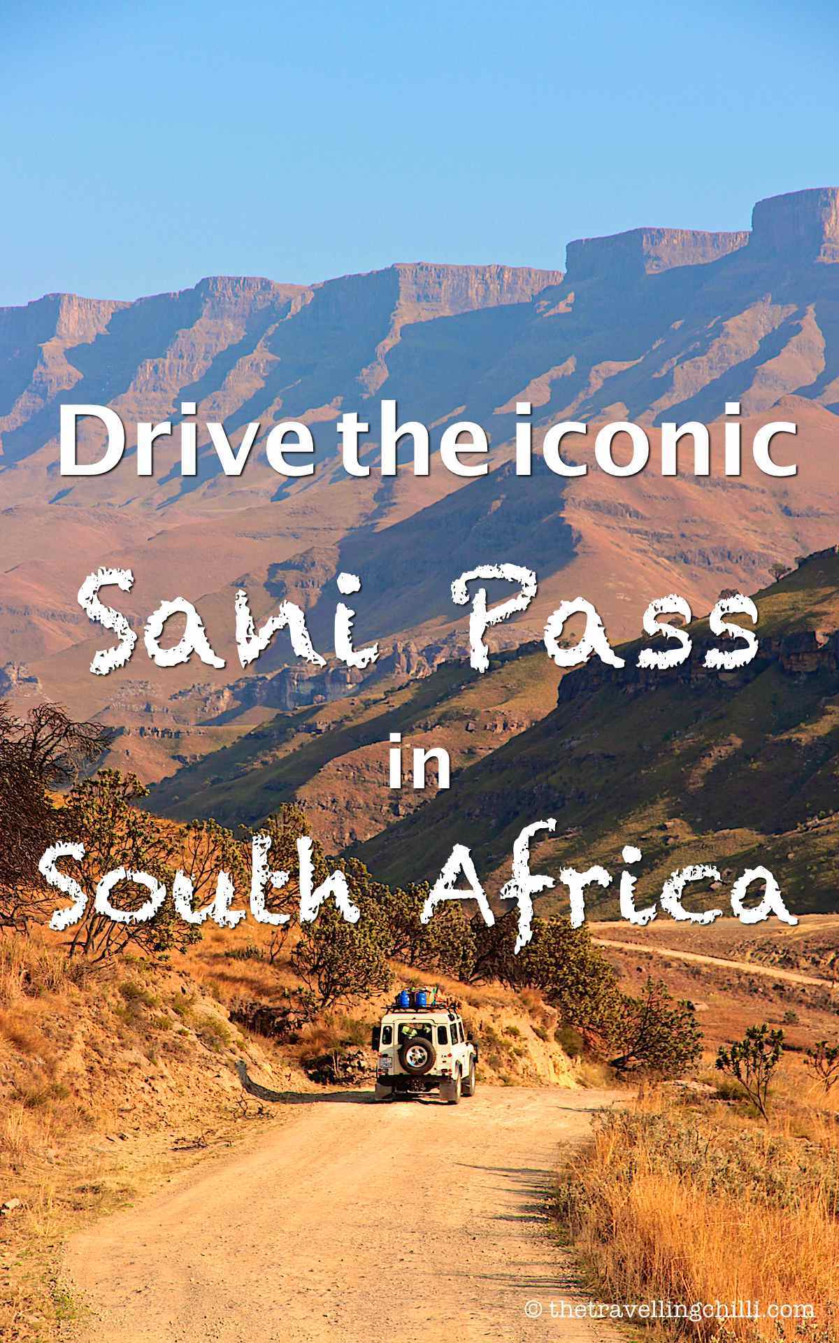Drive the iconic Sani Pass in South Africa