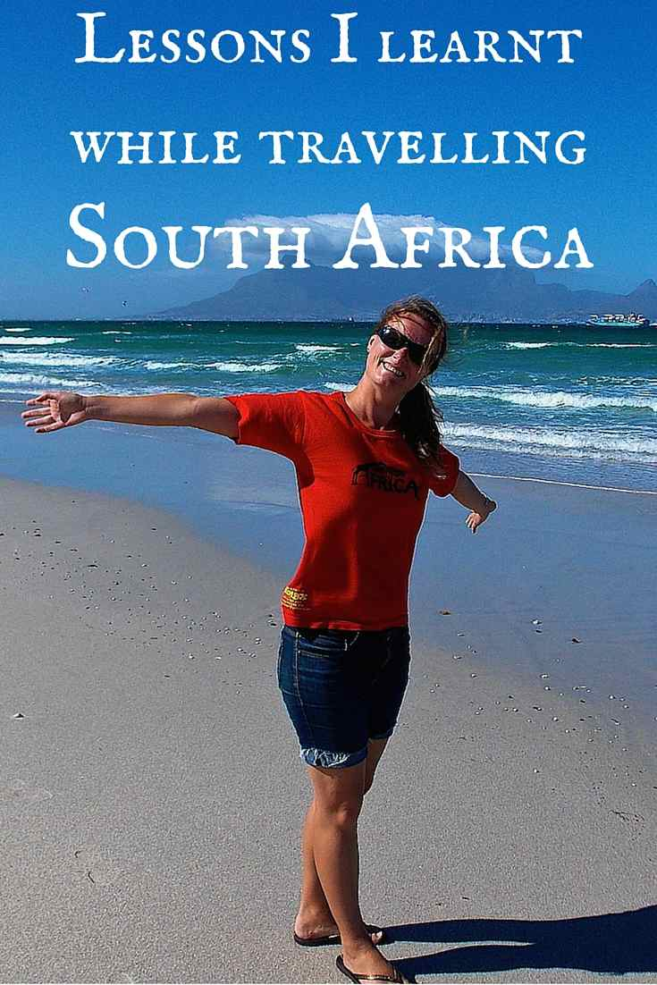 lessons learnt while travelling south africa