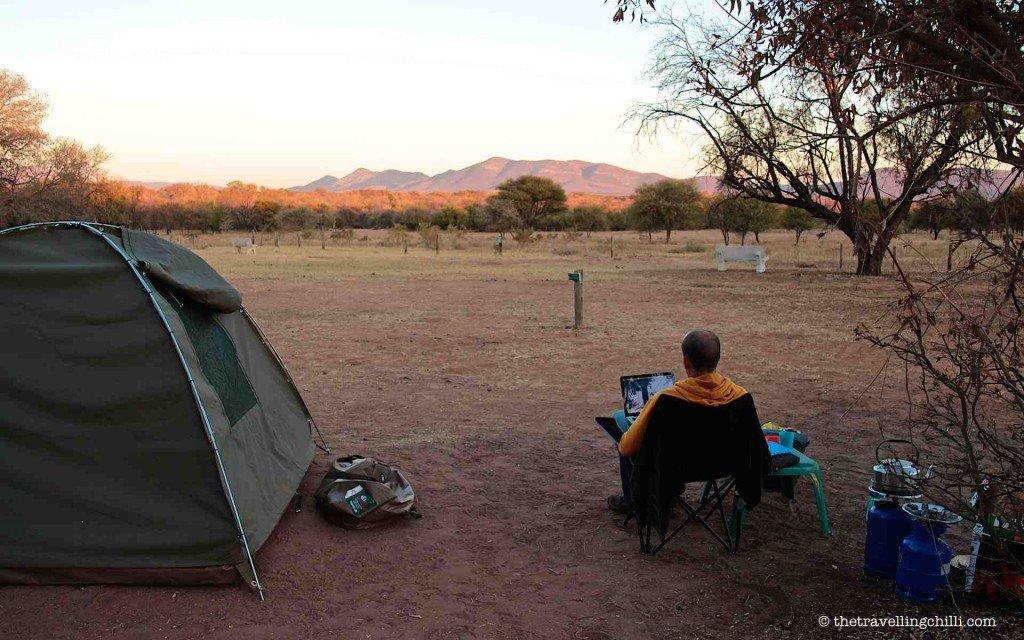 Using MTN 3G, Marakele National Park
