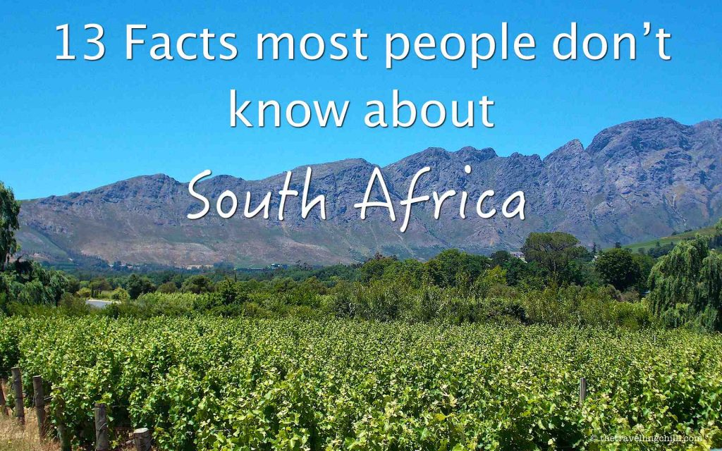 13 interesting facts about South Africa
