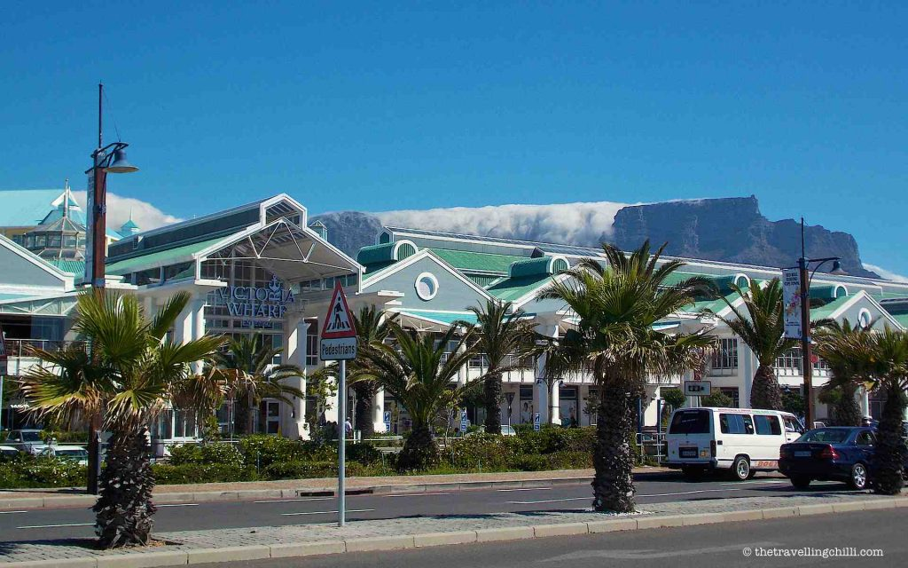 Table Mountain, V & A Waterfront, Cape Town, South Africa