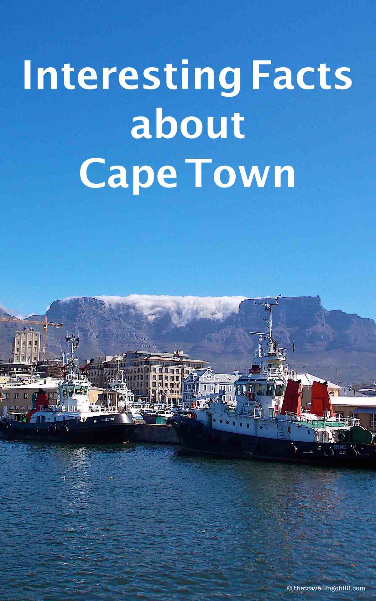 Interesting Facts about Cape Town, South Africa