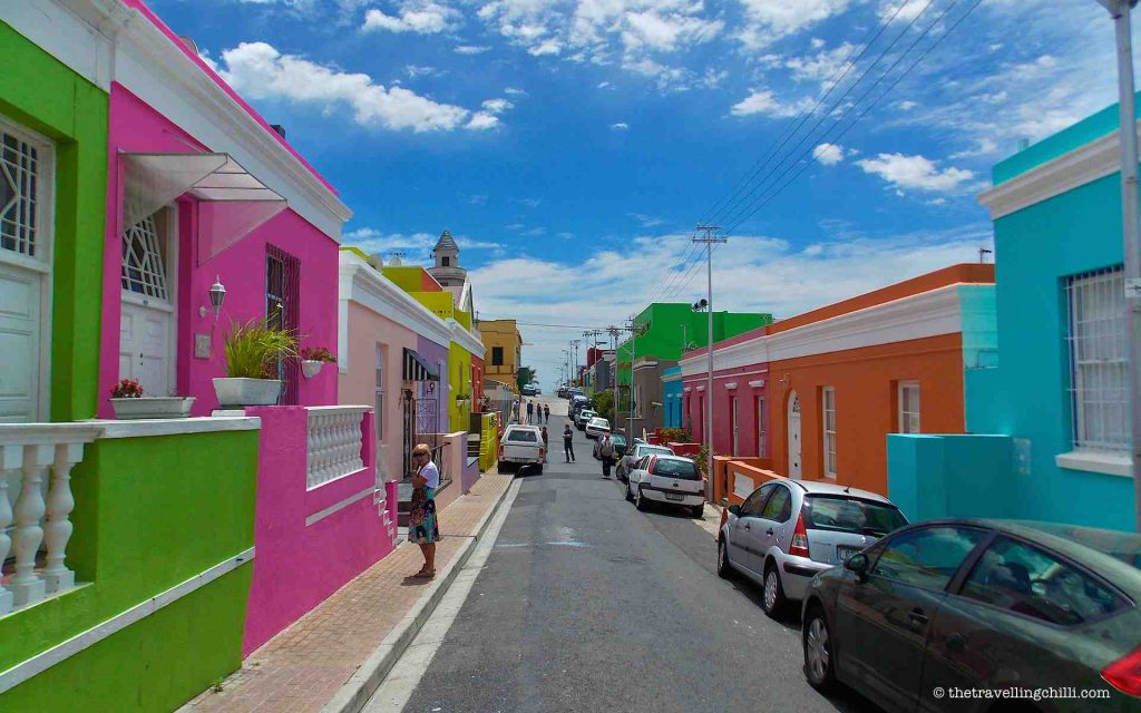 Bo-Kaap residential area, Cape Town city bowl.