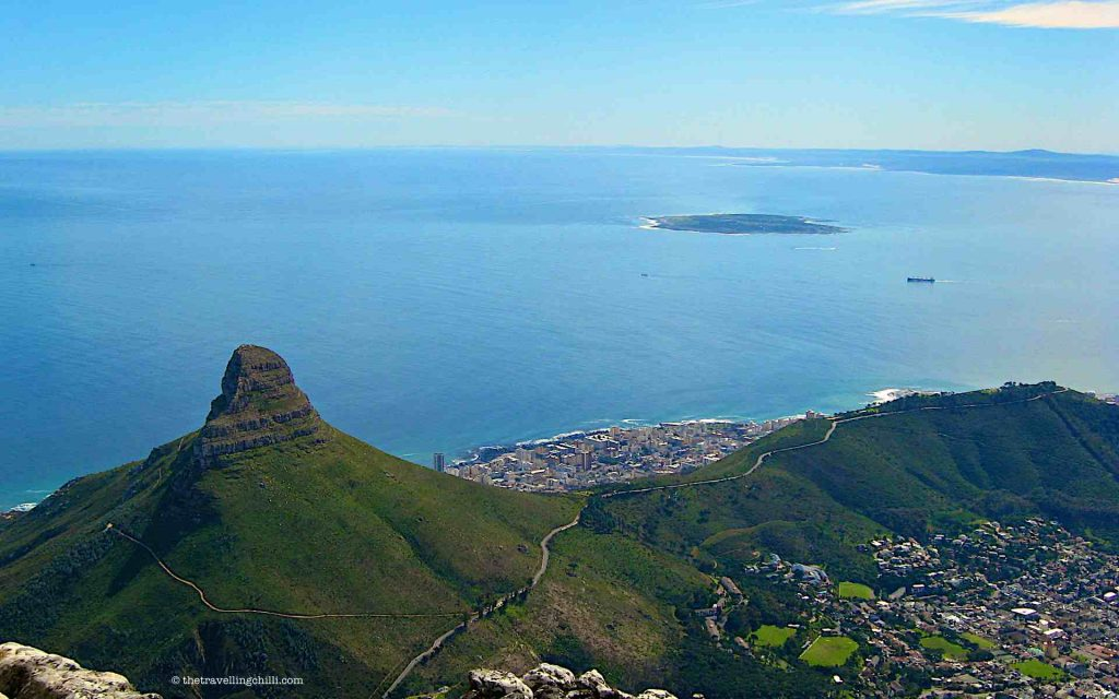 robben island table mountain cape town