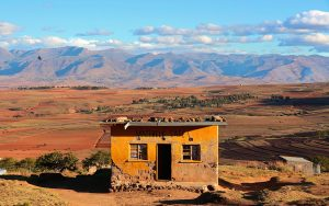 Local bar in Lesotho Malealea area