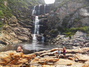 Otter Trail waterfall hike Tsitsikamma