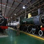 Steam locomotive Outeniqua transport museum George Garden Route South Africa