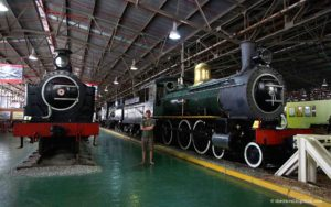 Steam locomotive Outeniqua transport museum George Garden Route South Africa