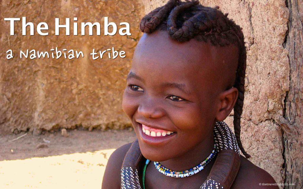 Himba girl namibia