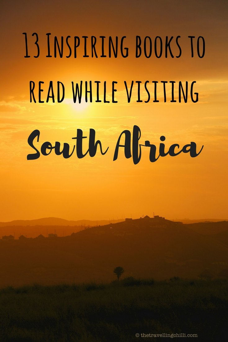 13 inspiring books to read while visiting South Africa | best books about South Africa | books on South Africa | South African books to read