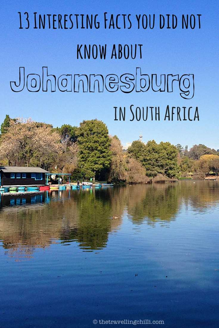 Johannesburg 13 Interesting Facts you did not know about