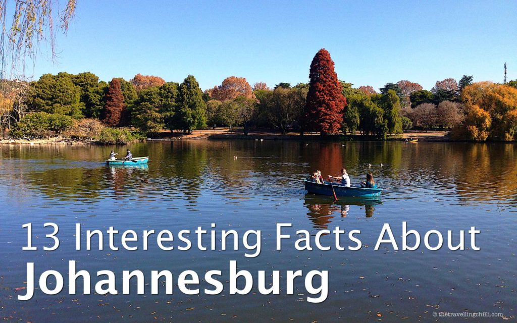 13 interesting facts about Johannesburg