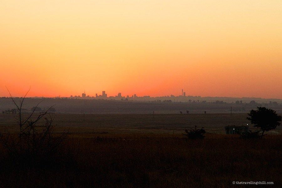 skyline johannesburg south africa
