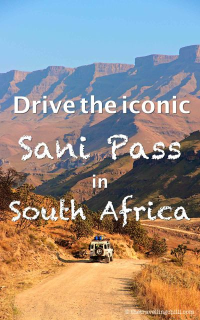 Drive the iconic Sani Pass from South Africa to Lesotho