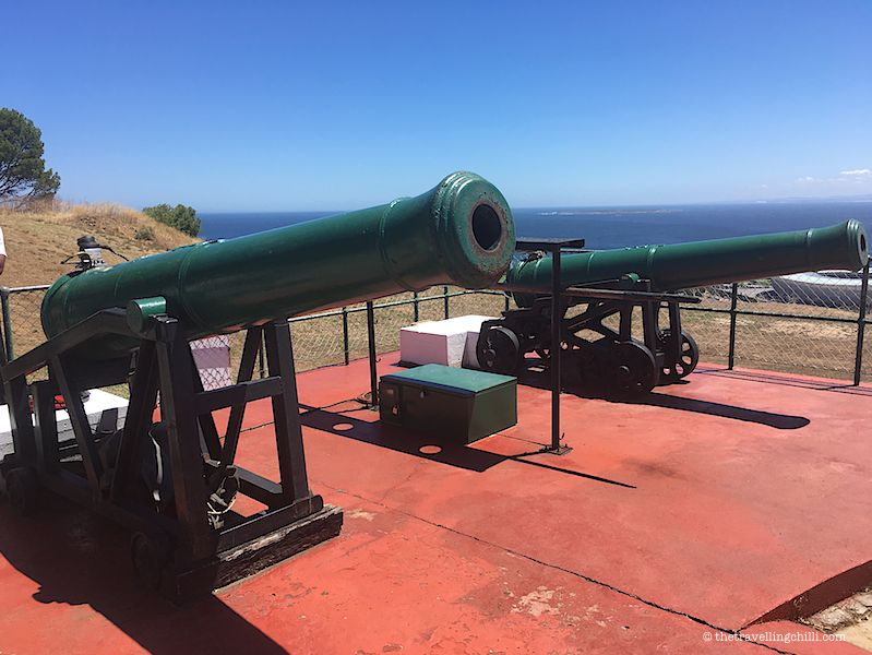noon gun in Cape Town