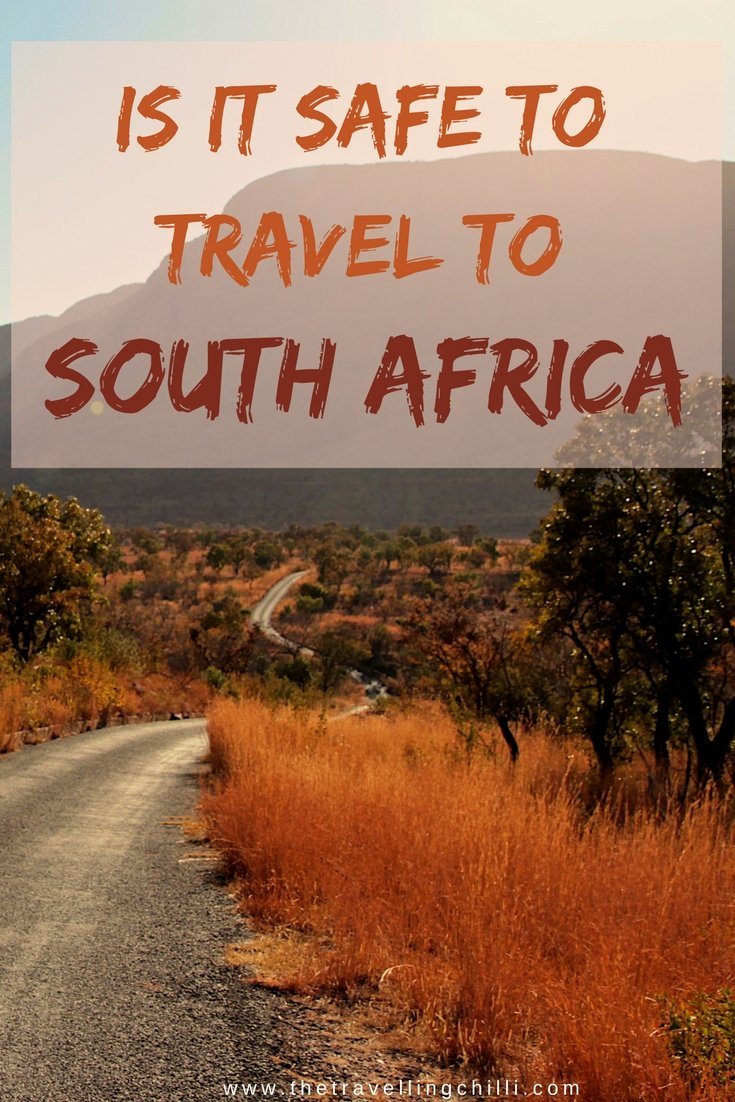 is it safe to travel to south africa