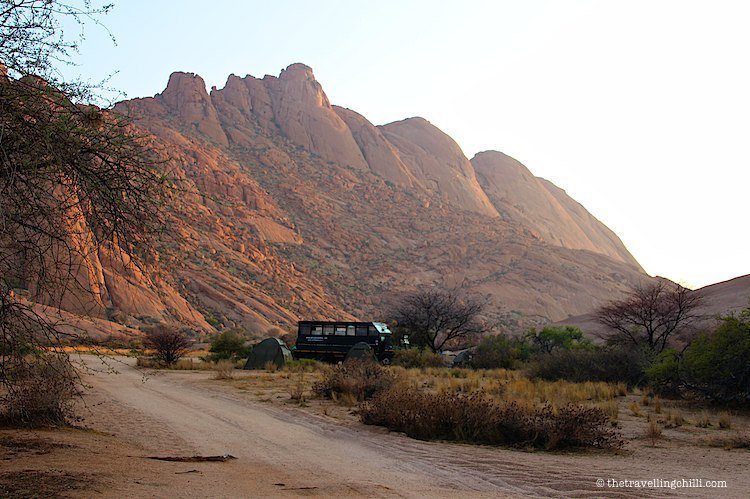 namibia spitzkoppe campsite| visit Namibia | things to do in Namibia