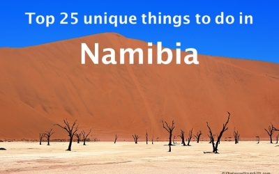 Top 25 unique things to do in Namibia
