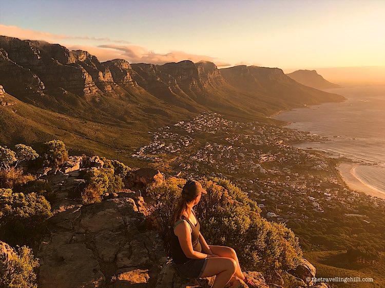 Lions Head view 12 Apostles Cape Town