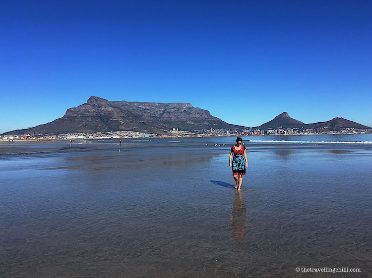 Table Mountain view Cape town