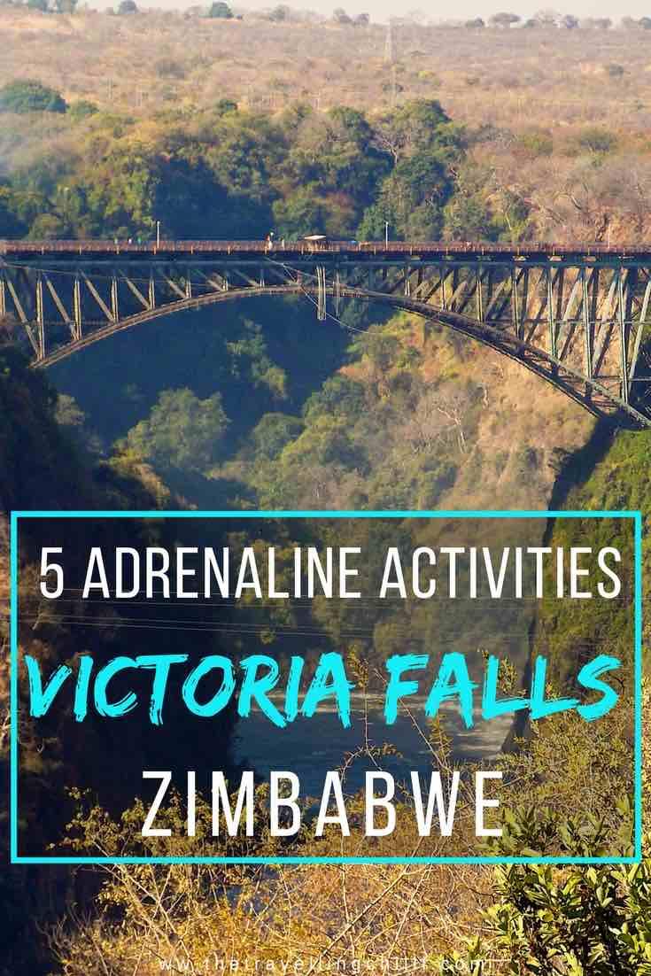 Adrenaline Activities to do in Victoria Falls Zimbabwe