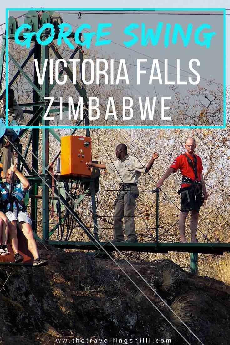 Gorge Swing Victoria Falls Zimbabwe