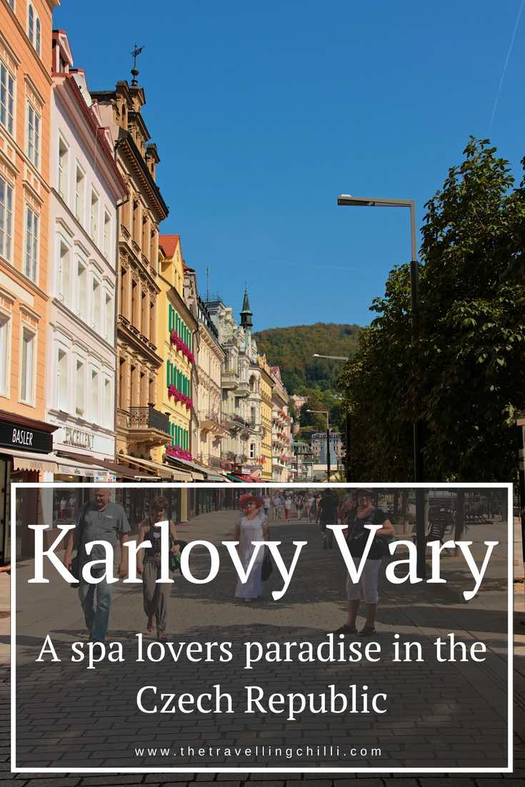 Karlovy Vary - A spa lovers paradise in the Czech Republic