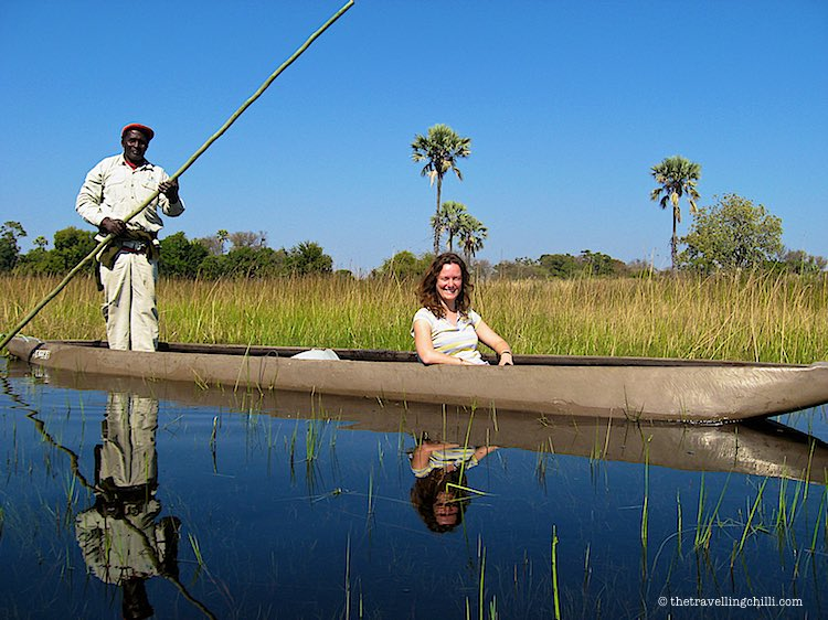 Mokoro Poler Okavango Delta Botswana
