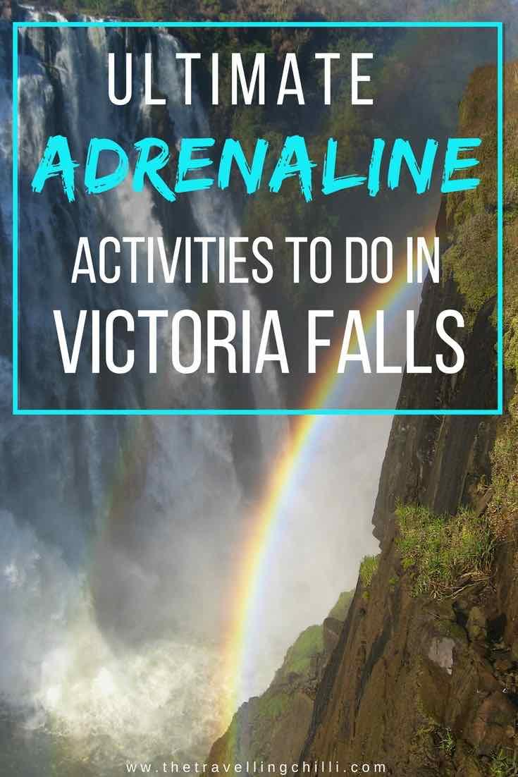 Ultimate Activities to do in Victoria Falls Zimbabwe