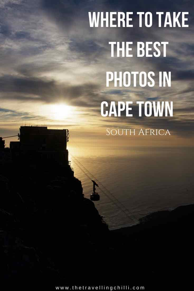 Where to take the best photos in Cape Town South Africa