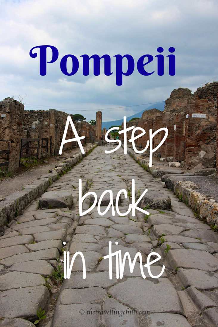 Pompeii a step back in time