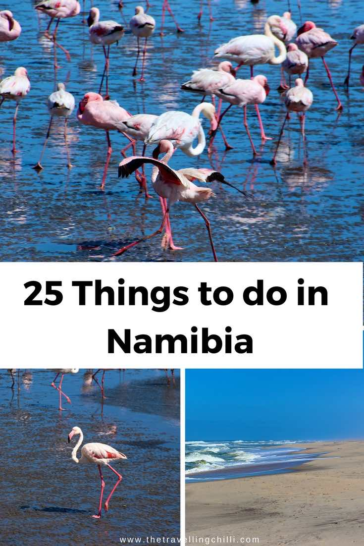 25 Things do to in Namibia