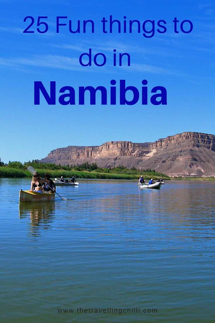 25 Fun things to do in Namibia