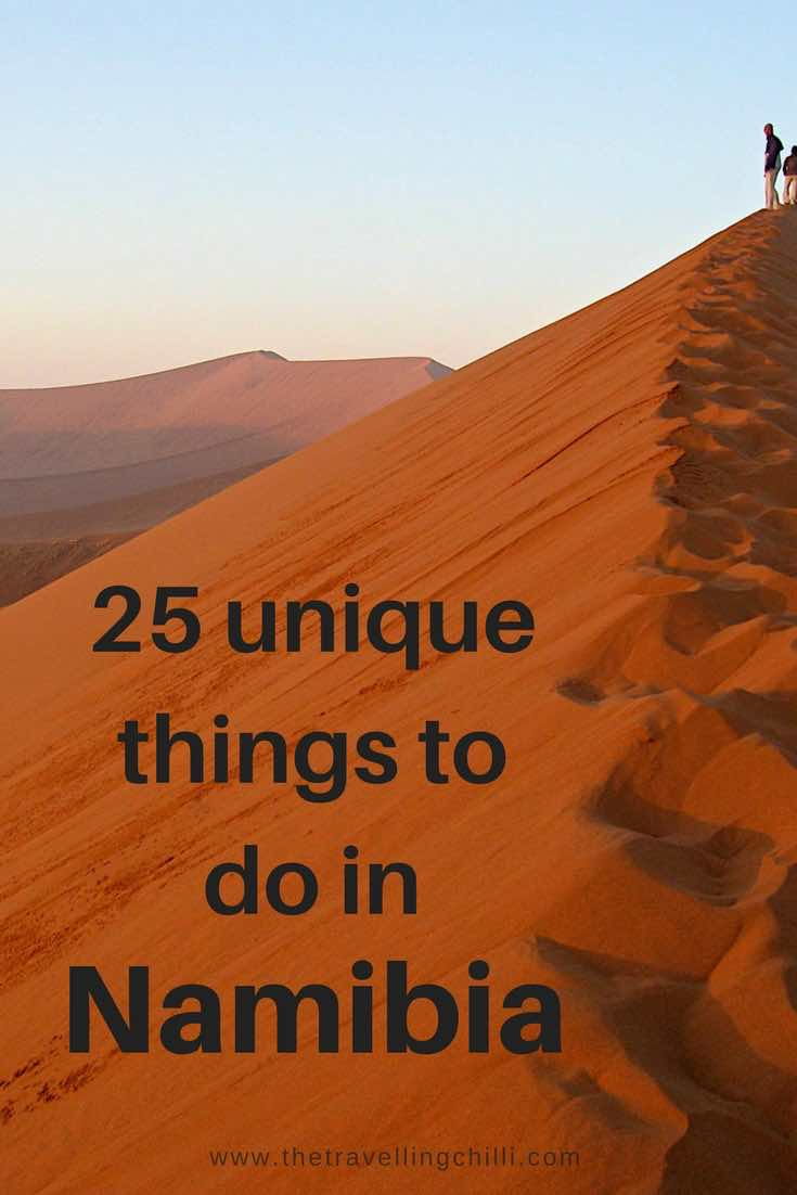 25 Unique Makeup Artist Tattoo Ideas On Pinterest: Top 25 Unique Things To Do In Namibia