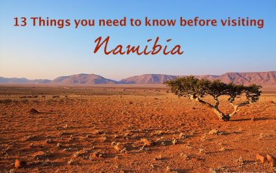13 Things you need to know before visiting Namibia