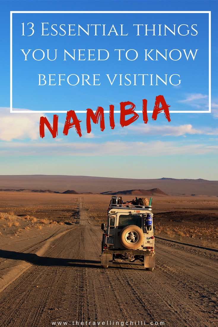 13 Essential things you need to know before visiting Namibia
