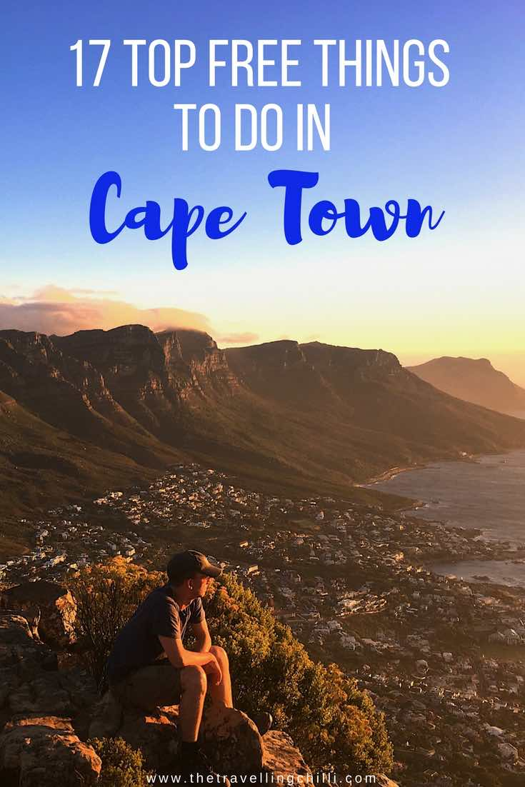 17 Top free things to do in Cape Town