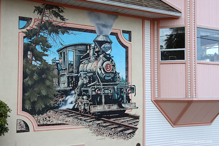 Street Art Chemainus |photos to inspire you to visit Vancouver Island Canada | Pictures of Vancouver Island | Visiting Vancouver Island | Photos of Vancouver Island