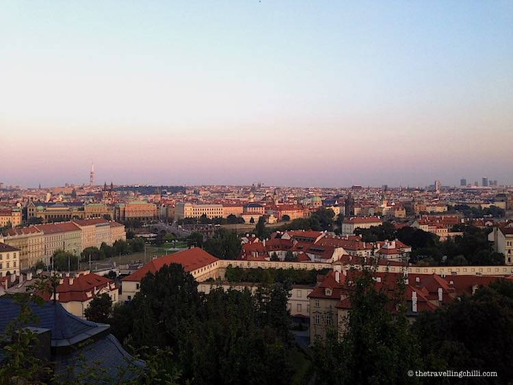 Prague city view Czech Republic
