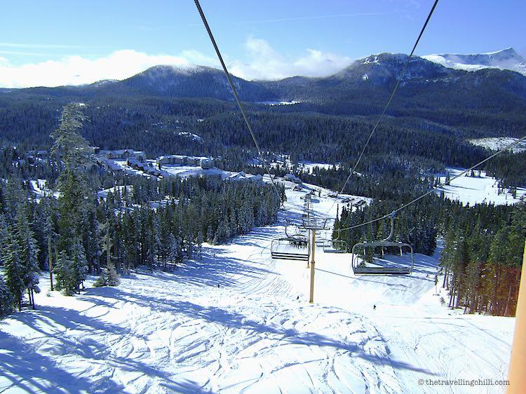 Mount Washington ski resort Vancouver Island