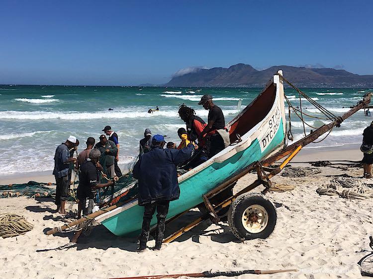Muizenberg fisherman Cape Town