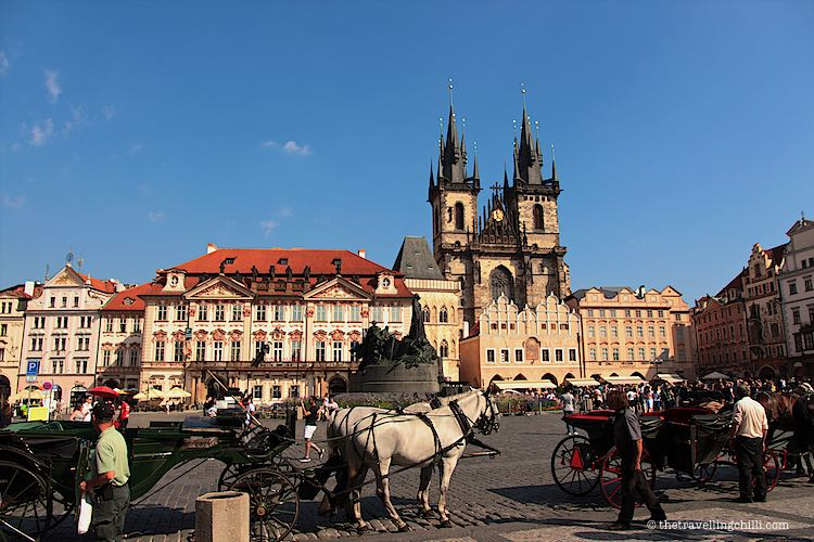 Old Town Squary in Prague Czech Republic