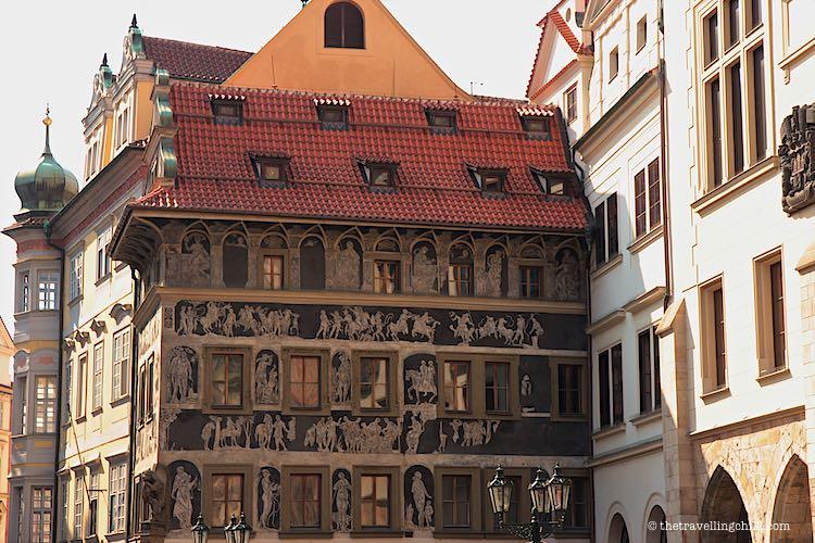 Prague architecture Czech Republic